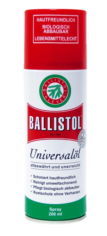 Ballistol Universalöl Spray 200ml zur Waffenreinigung und Waffenpflege