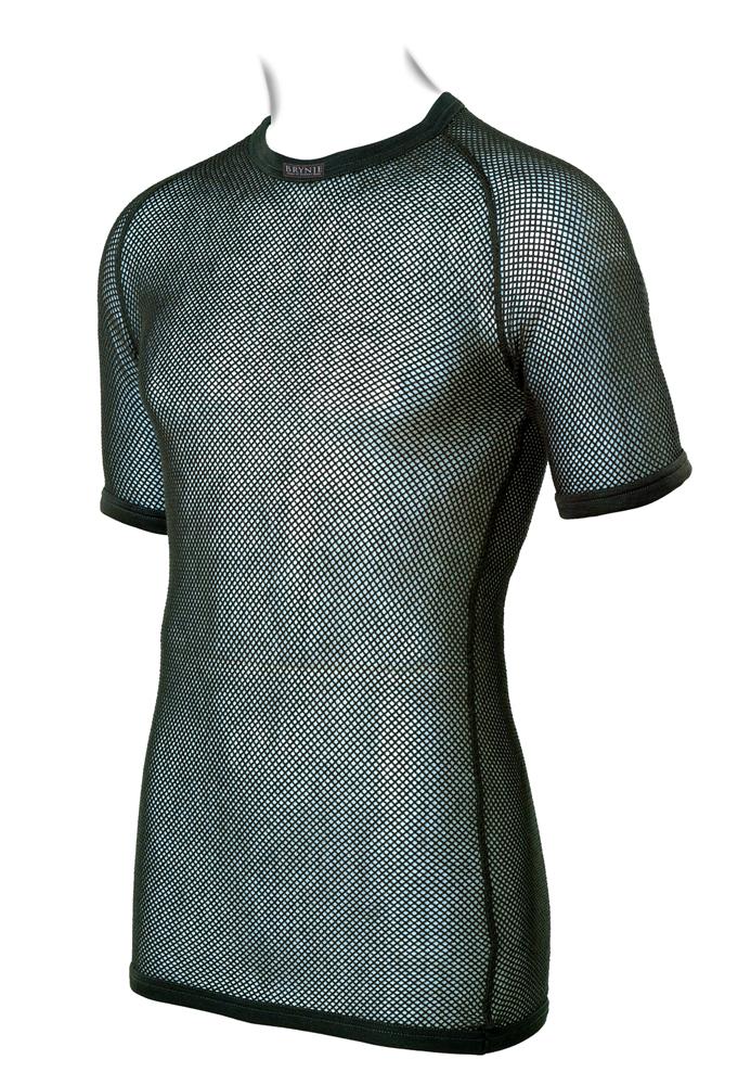 Brynje SuperThermo T-Shirt oliv aus Polypropylen