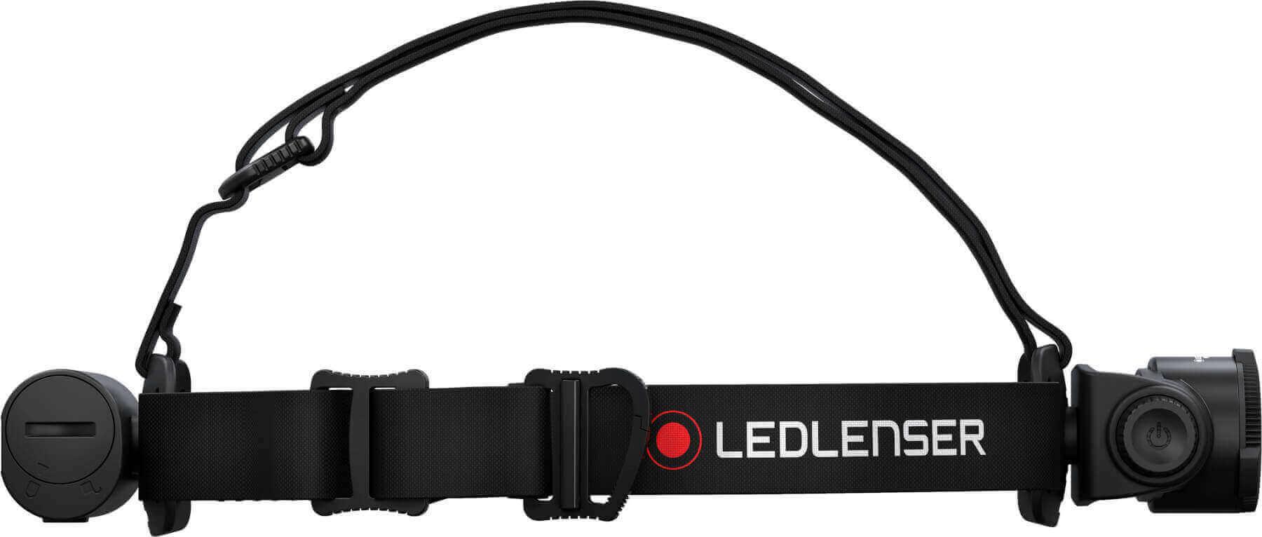 Seitenansicht von Stirnlampe H7R Core von Ledlenser