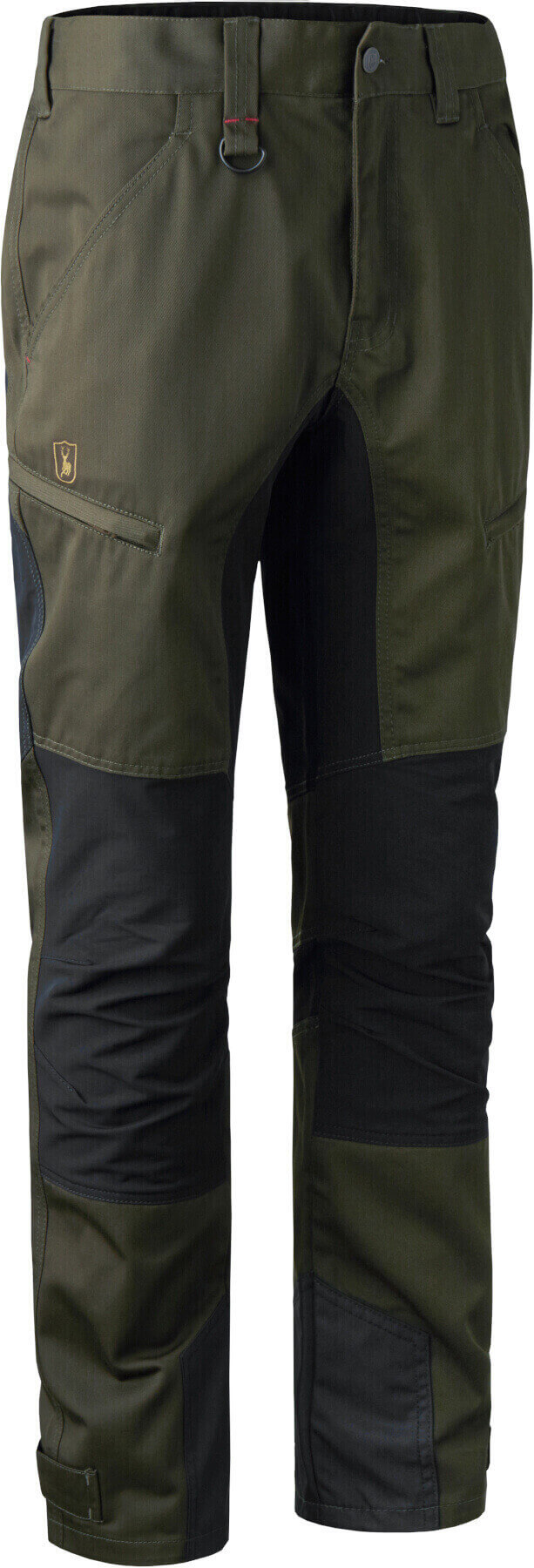Outdoorhose Rogaland Stretch mit Kontrastbesatz adventure green von Deerhunter