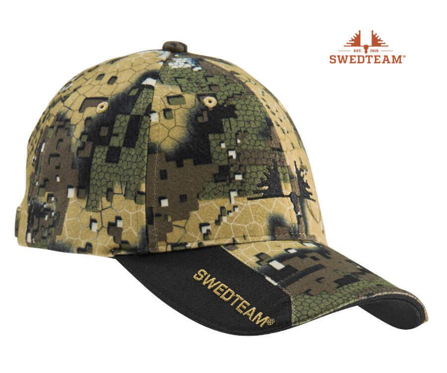 Camouflagekappe Ridge Veil von Swedteam für Blattjagd