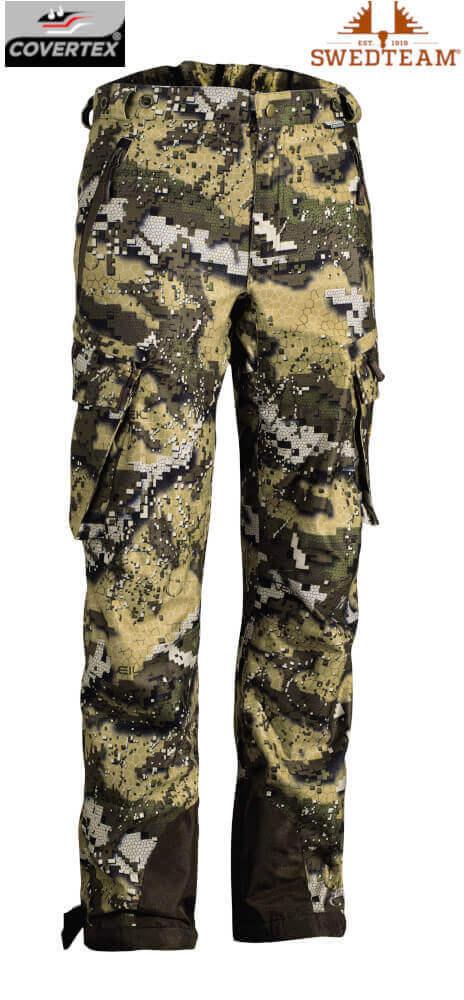 Jagdhose Camouflage Ridge Pro mit Covertex Membran Desolve Veil Tarnmuster von Swedteam