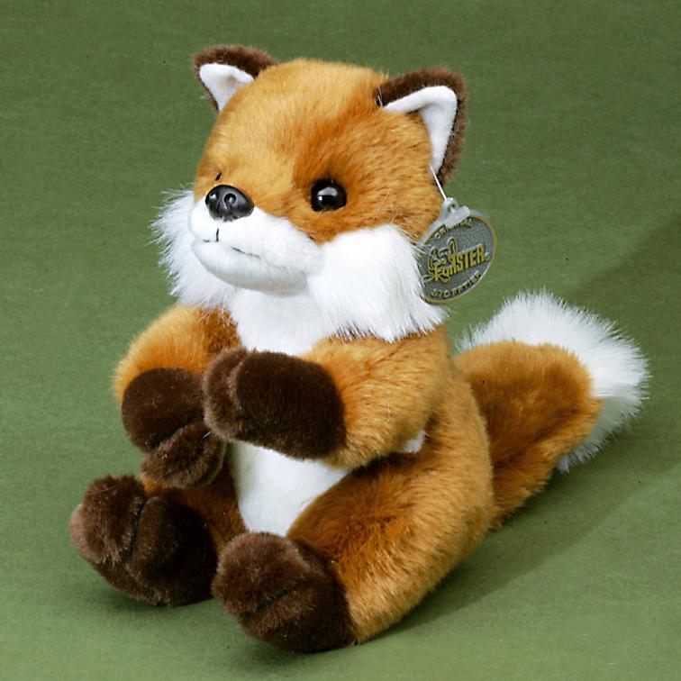 Kinderkuscheltier Fuchs sitzend