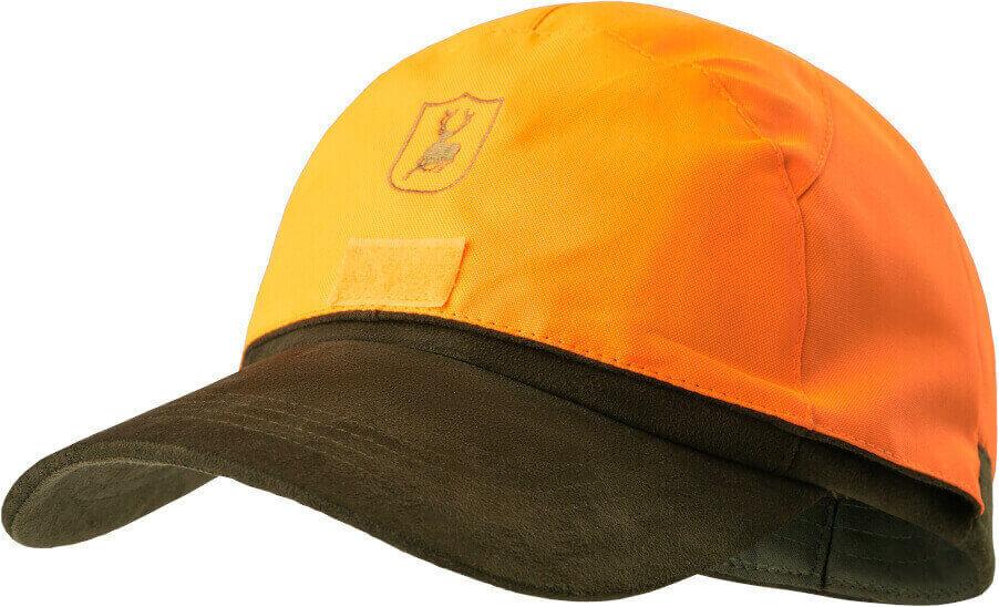 Jagdkappe Deer orange mit Deertex Membran wasserdicht Deerhunter