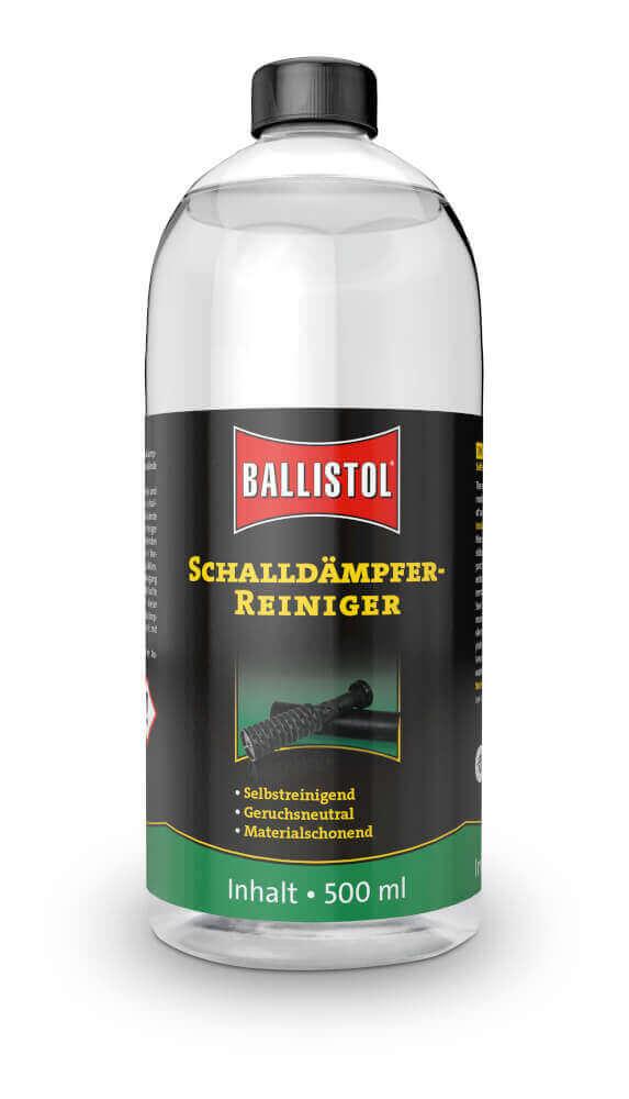 Ballistol Schalldämpferreiniger 500ml zur Pflege und Reinigung vom Schalldämpfer