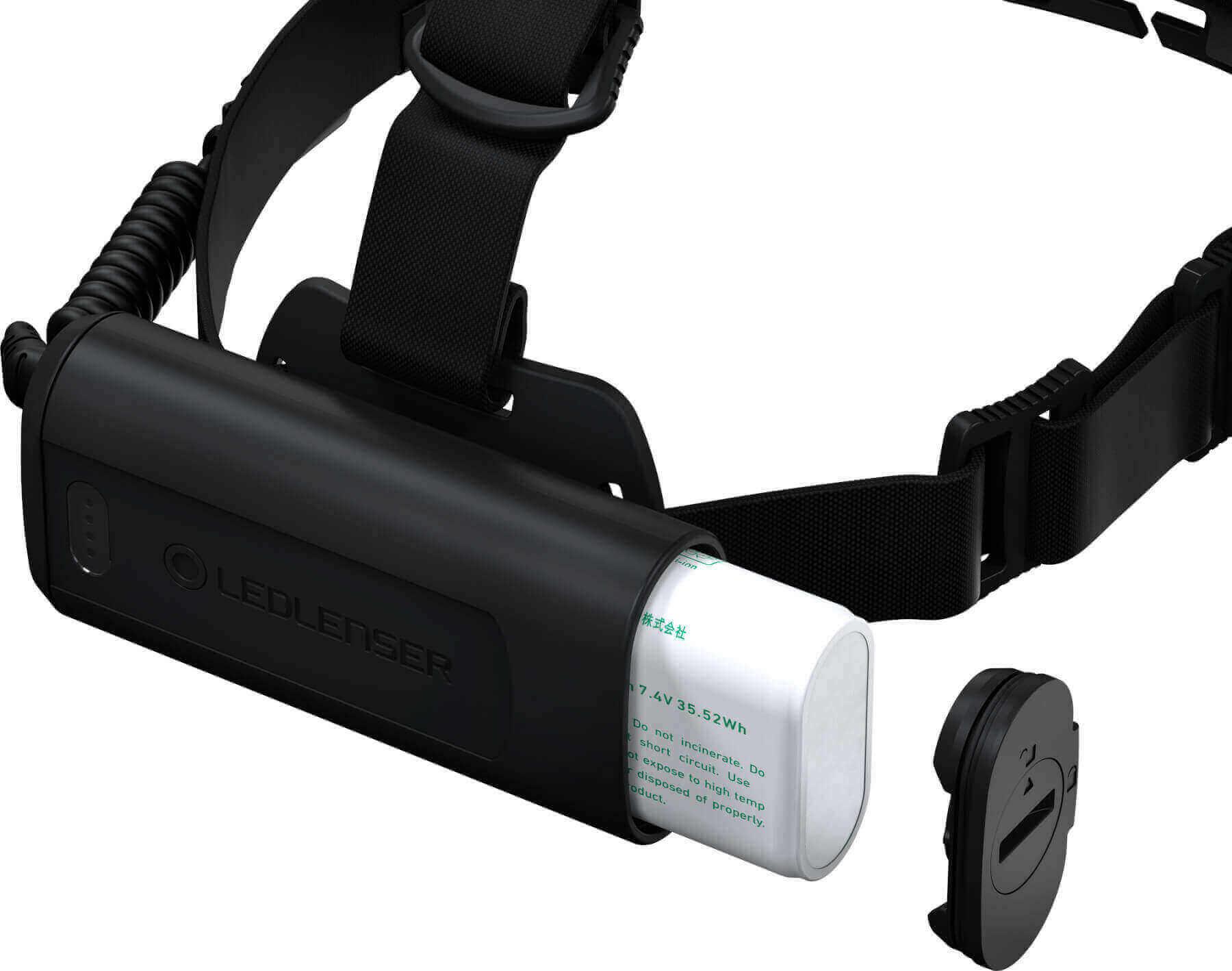 Stirnlampe H15R Core Akkuwechsel