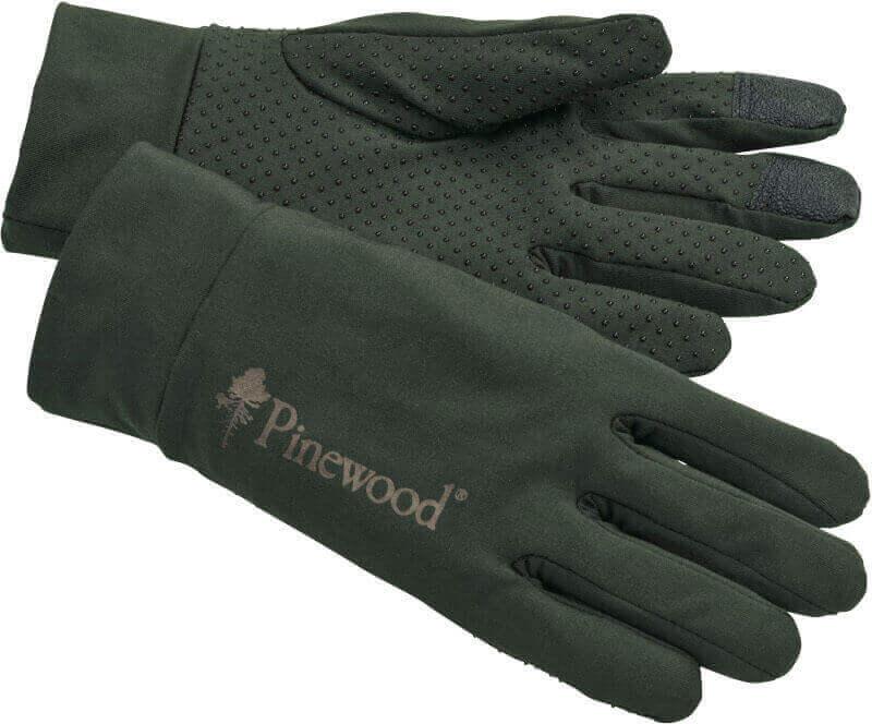 Stretch Handschuh oliv von Pinewood