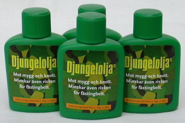 Mückenmittel Djungelolja aus Schweden 40ml