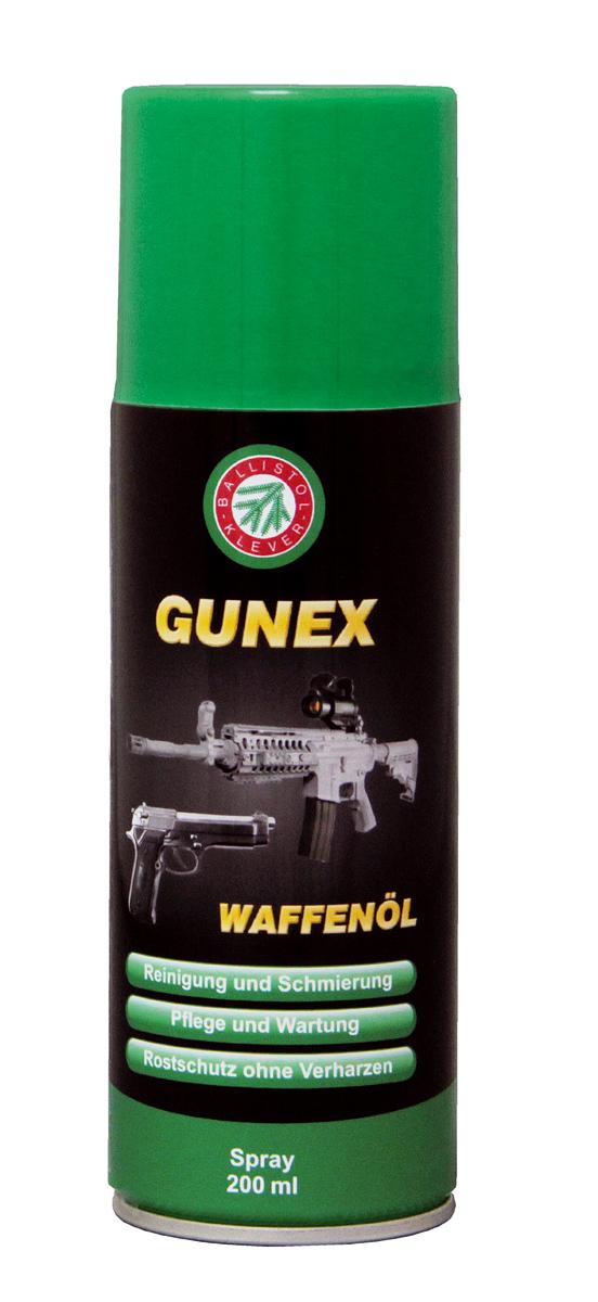 Ballistol Gunex Waffenöl zur Reinigung und Waffenpflege