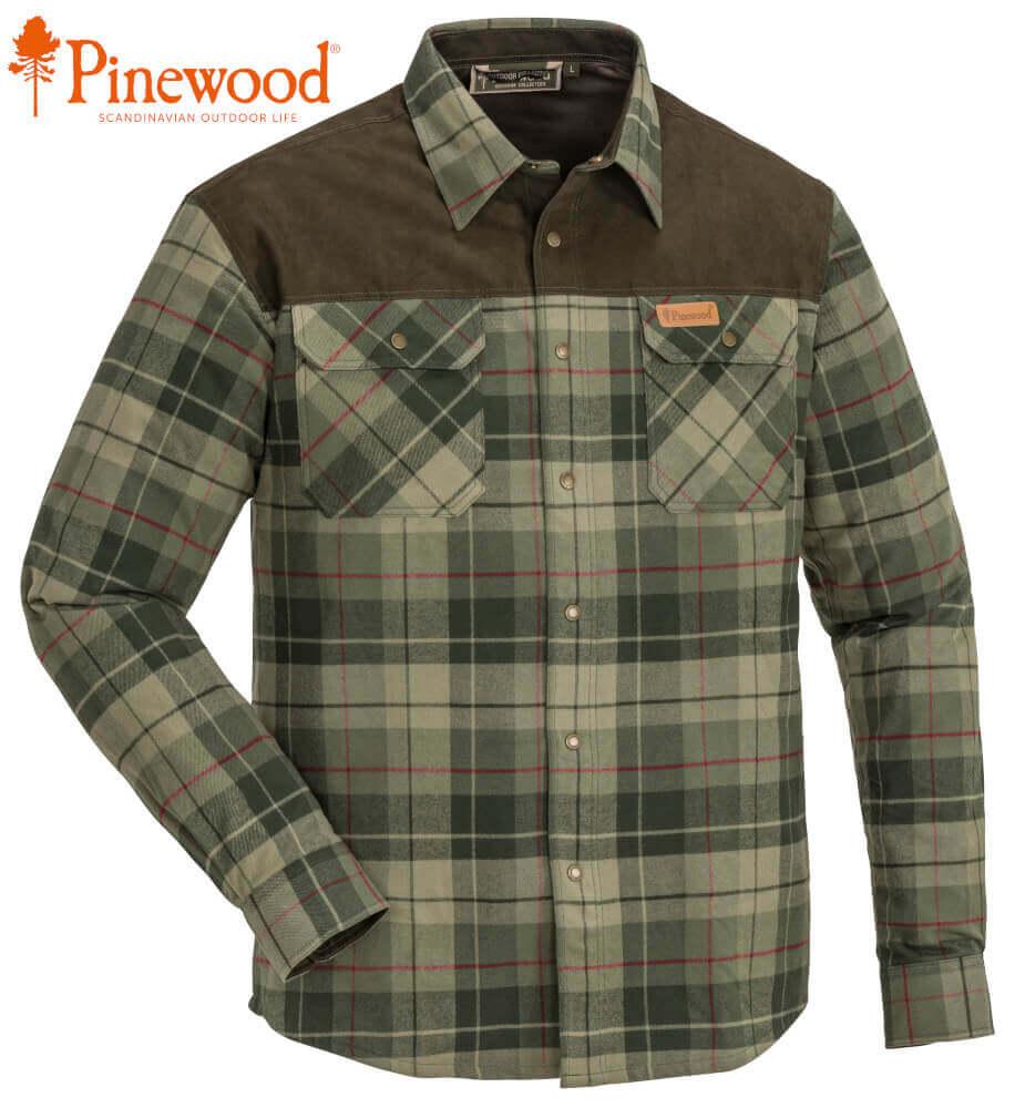 Jagdhemd Douglas pinegreen mit Windblocker Membran von Pinewood