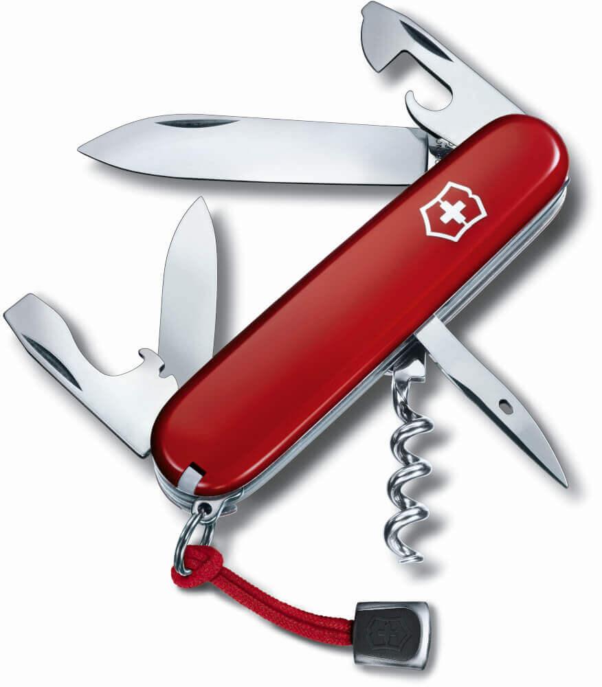 Taschenmesser Spartan rot mit 12 Funktionen von Victorinox
