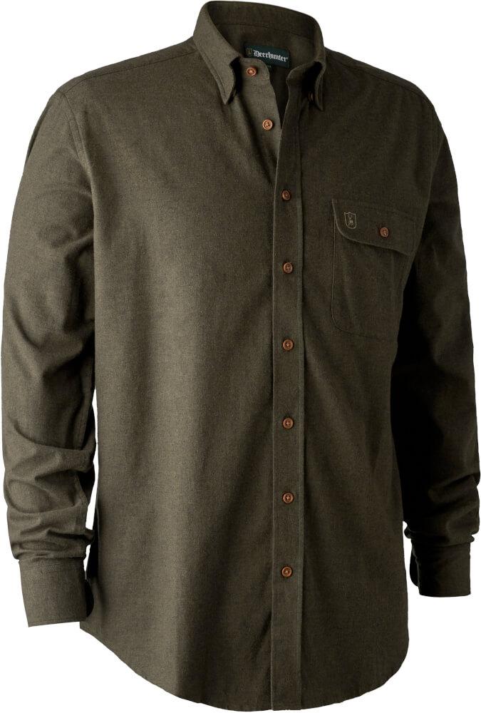 Jagdhemd Liam aus Flanell und reiner Baumwolle von Deerhunter