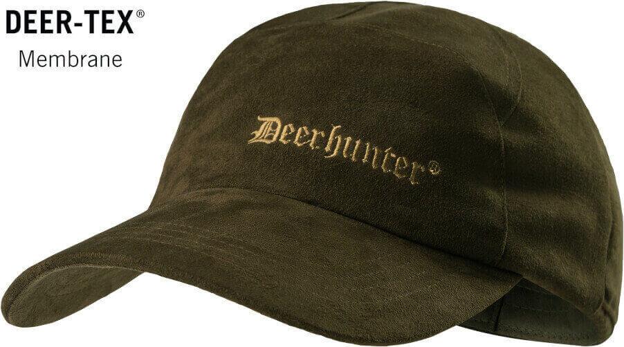 Jagdkappe Deer peat zum wenden oliv/orange mit Deertex Membran wasserdicht von Deerhunter