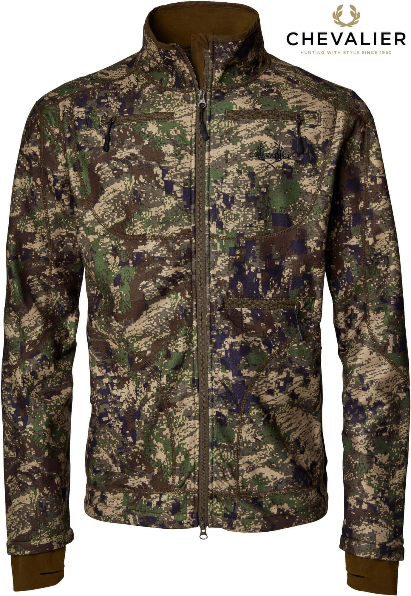 Camouflagejacke Pixelcamo wendbar oliv/Pixelcamo von Chevalier