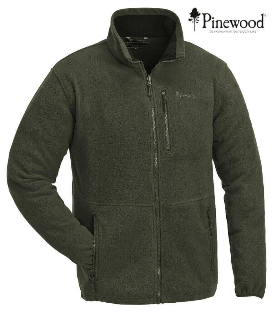 Kinderjacke Fleece Finnveden Kids oliv von Pinewood