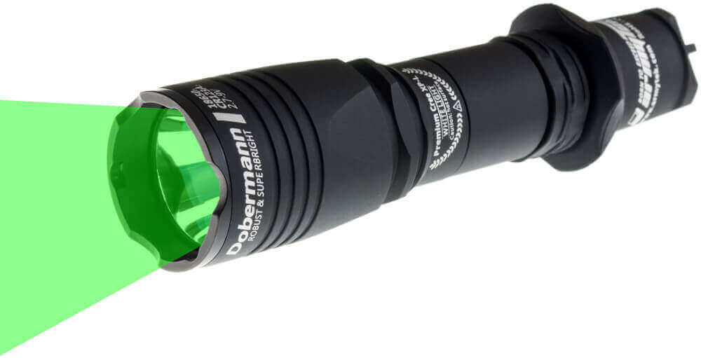 Taschenlampe Dobermann grün 240lm von Armytek