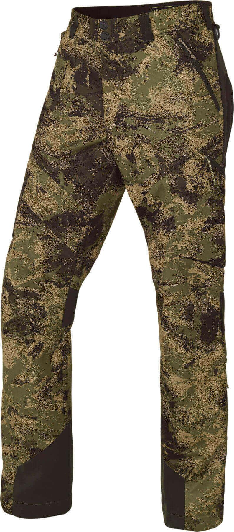 Camouflagehose Lagan aus Fleece für die Pirsch und Ansitz von Härkila
